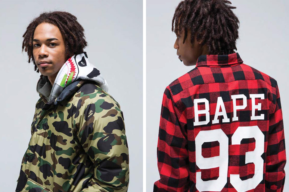 A Bathing Ape fall:Winter 2015 collection