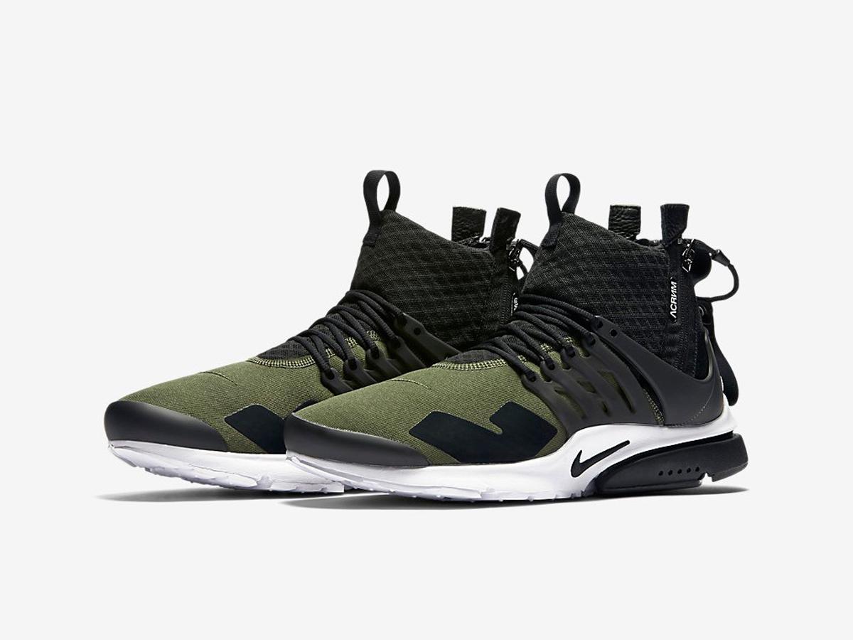Acronym X Nikelab Air Presto Mid Sneakers Addict