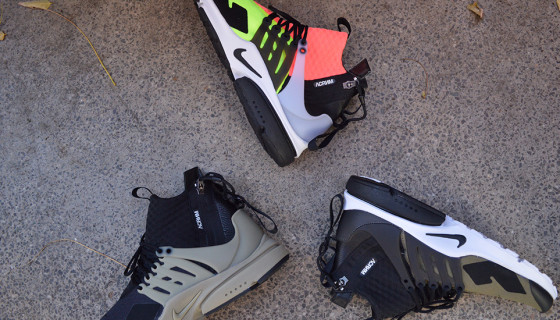 Acronym x Nike Air Presto Ultra Preview
