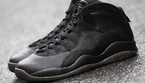 "Air Jordan 10 OVO ""Black"" – Release Date"