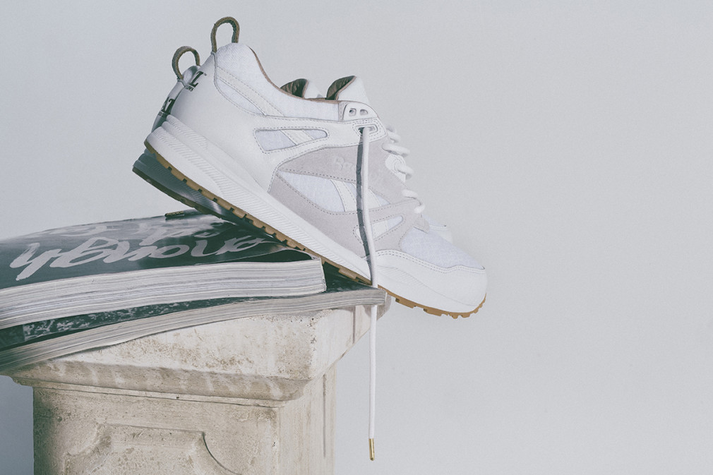 Reebok x HAL Ventilator 'White Smoke' – launching 21st November.