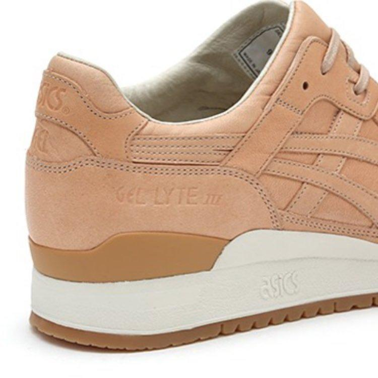 ASICS Gel-Lyte III 3 Vegetable Tanned Leather made in Japan