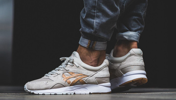 Asics Gel Lyte V Veg Tan Leather Pack