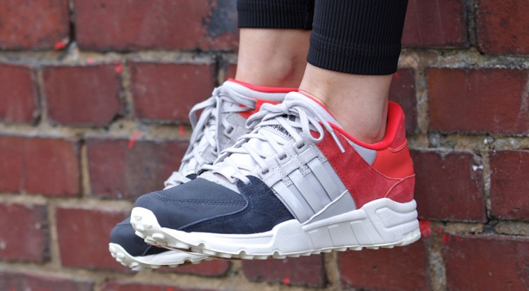 Adidas  Equipment Support 93 W Night Grey:ClearGranite:BrightRed  S81474