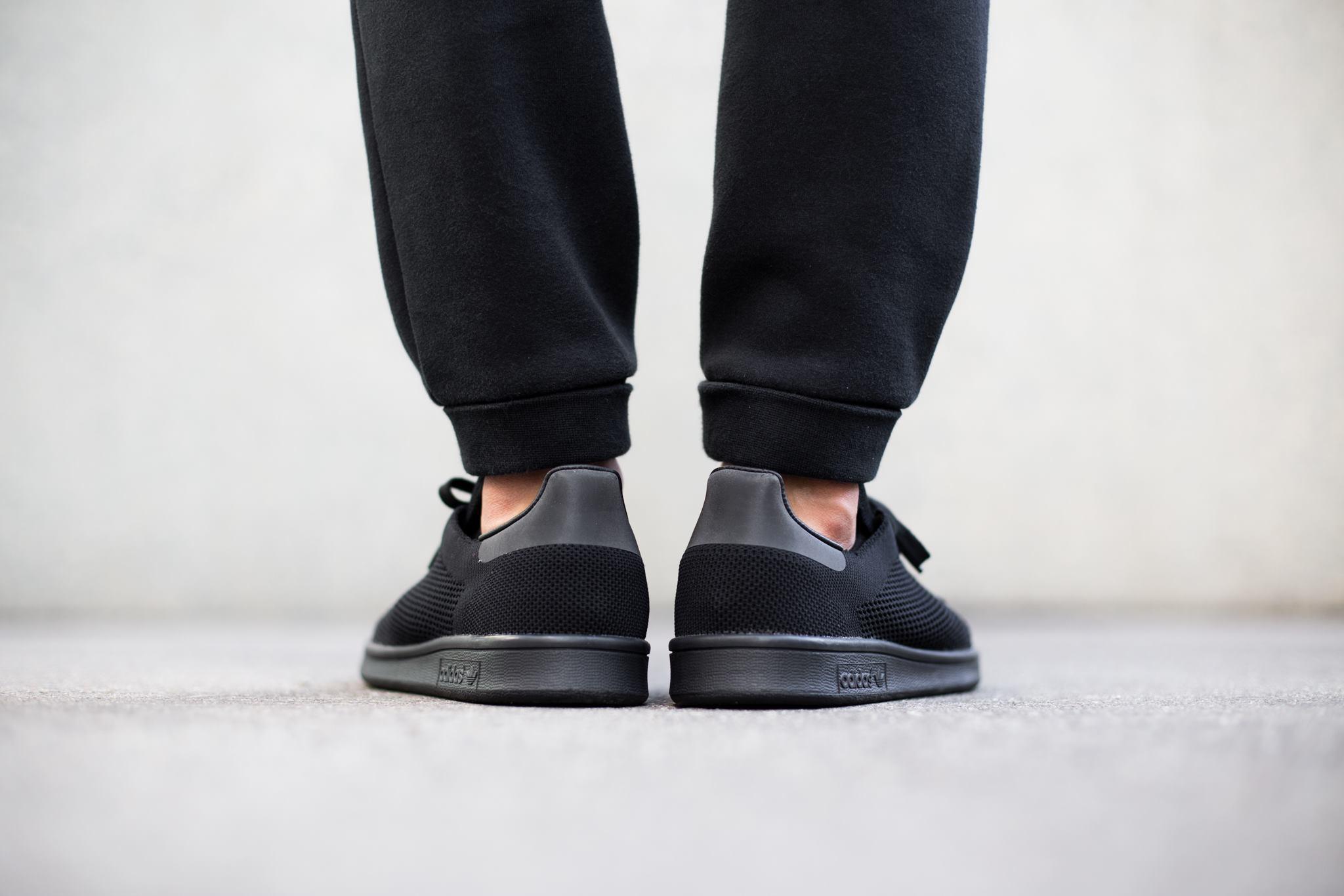 adidas stan smith primeknit 39 core black 39 available. Black Bedroom Furniture Sets. Home Design Ideas