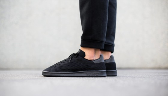 Adidas Stan Smith Primeknit 'Core Black' – Disponible