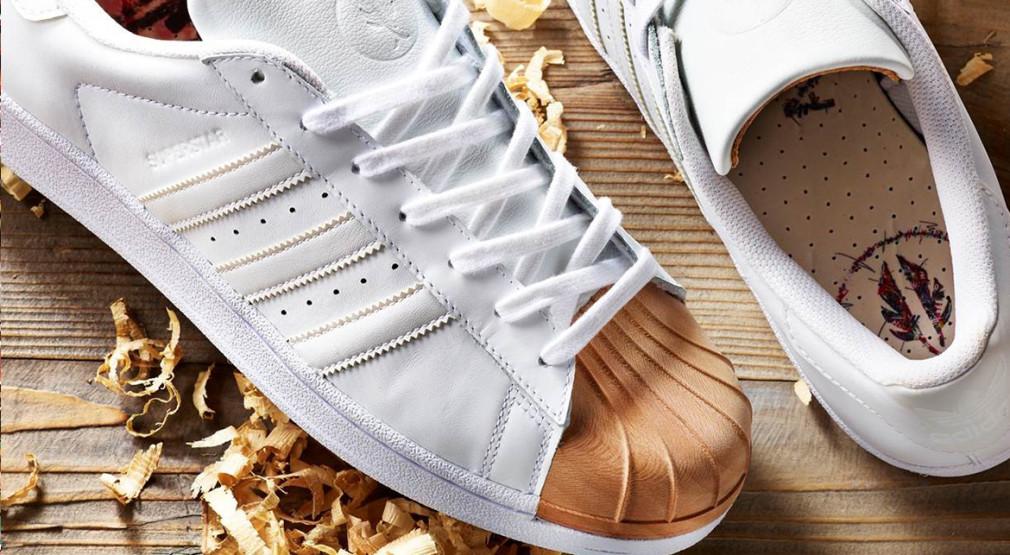 Afew x Ivan Beslic x Adidas Originals Superstar 'Wooden Shell toe'