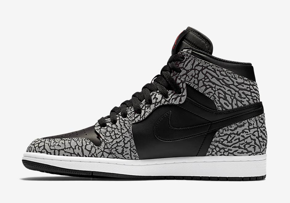 Air Jordan 1 High Elephant Print 1