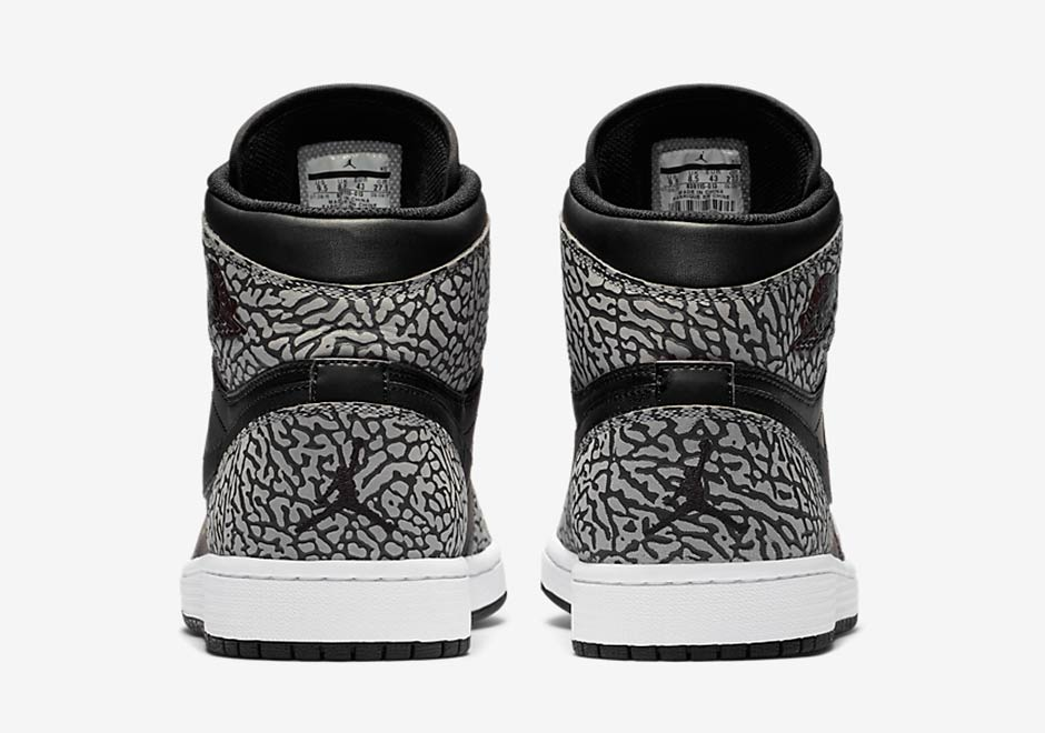Air Jordan 1 High Elephant Print 3