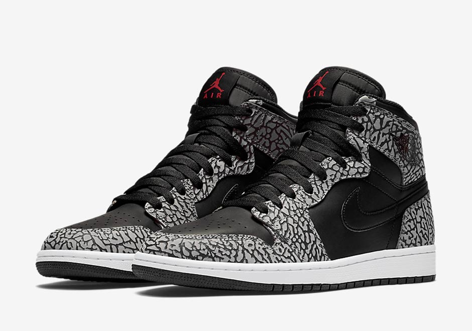 Air Jordan 1 High Elephant Print 5