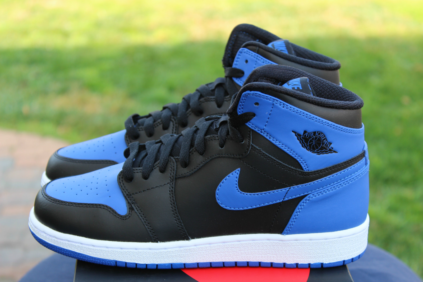 uniformes Nike équipe - Air Jordan 1 Retro high OG GS Black/Royal Blue | Sneakers ...