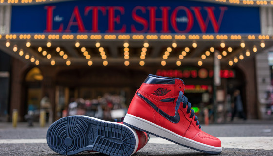Air Jordan 1 Retro High OG David Letterman : Release Reminder