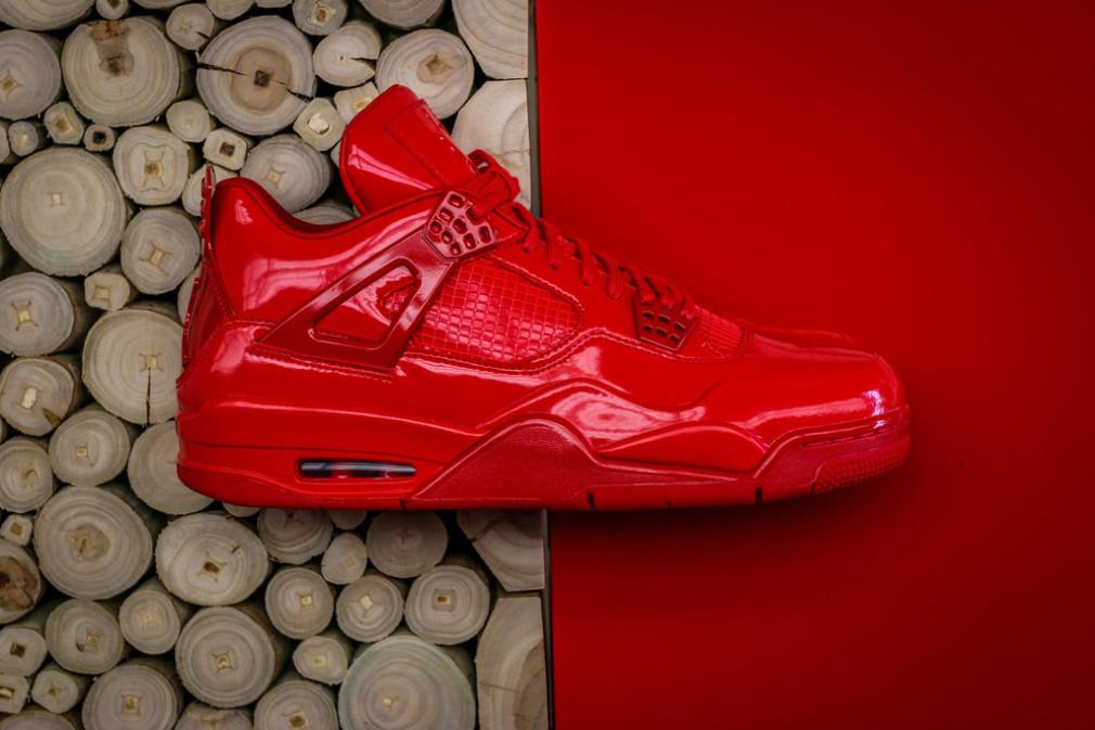 Air Jordan 11Lab4 Red Patent