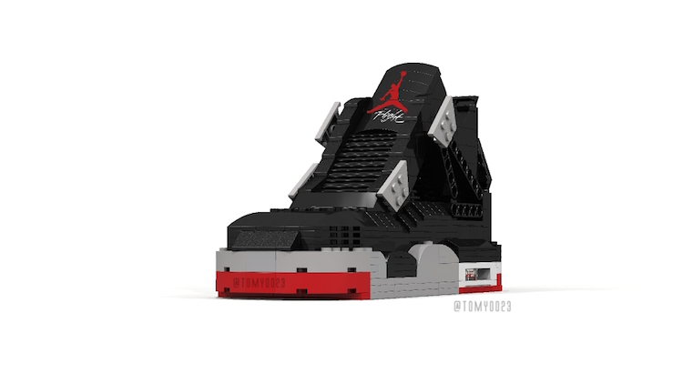 Air Jordan 4 Bred Lego Tom Yoo