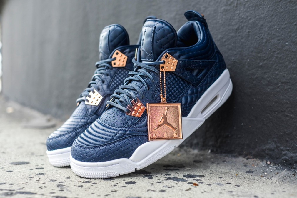 Air Jordan 4 Retro Premium Pinnacle - Obsidian 4