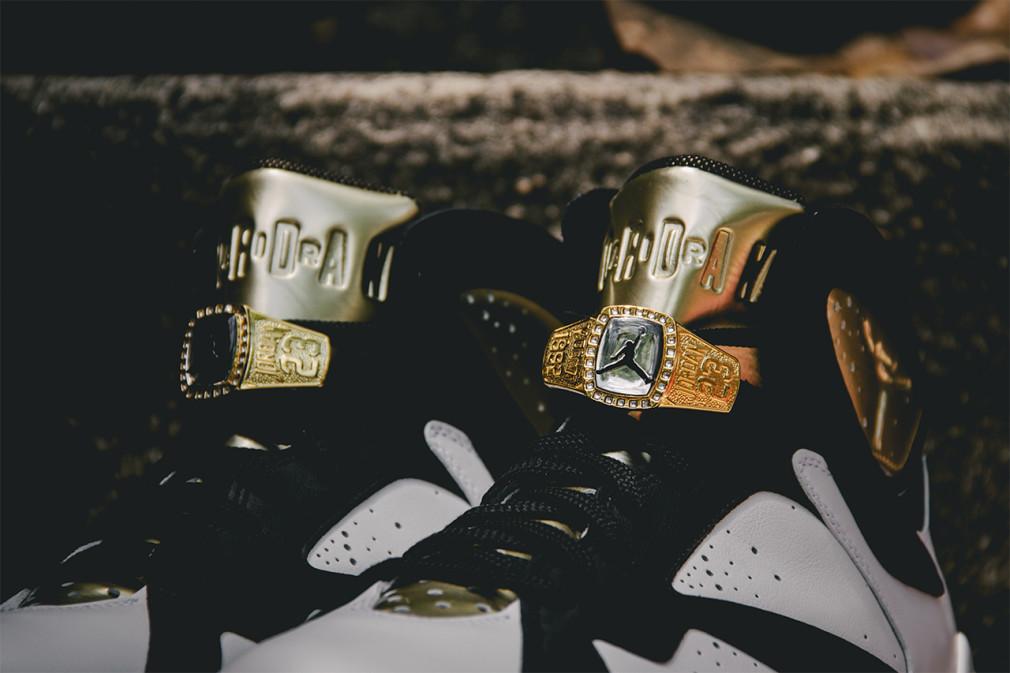 Air Jordan 7 Retro  Cigar & Champagne Pack