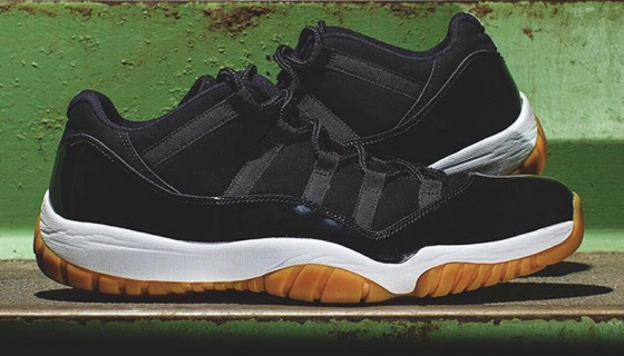 Air Jordan XI Low 'Black/Gum'
