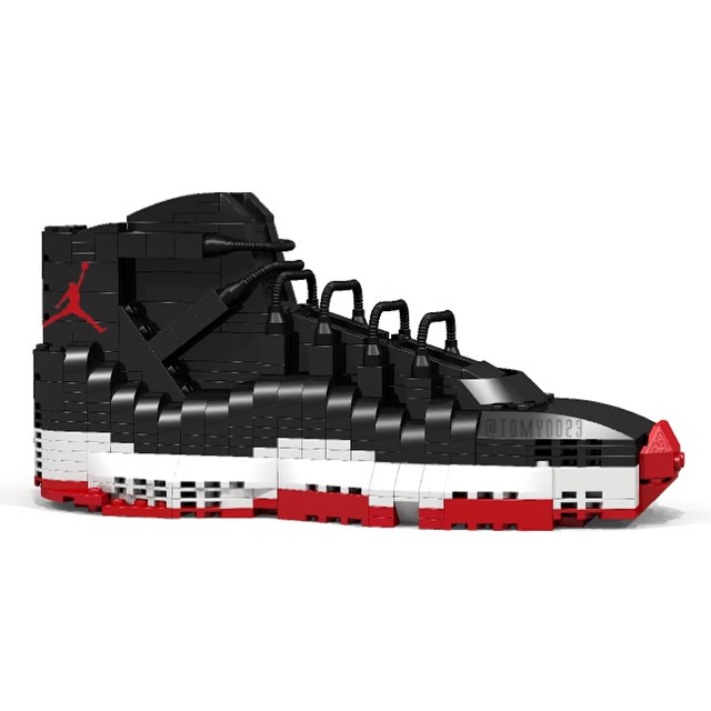 Air Jordan XI Bred Lego Tom Yoo