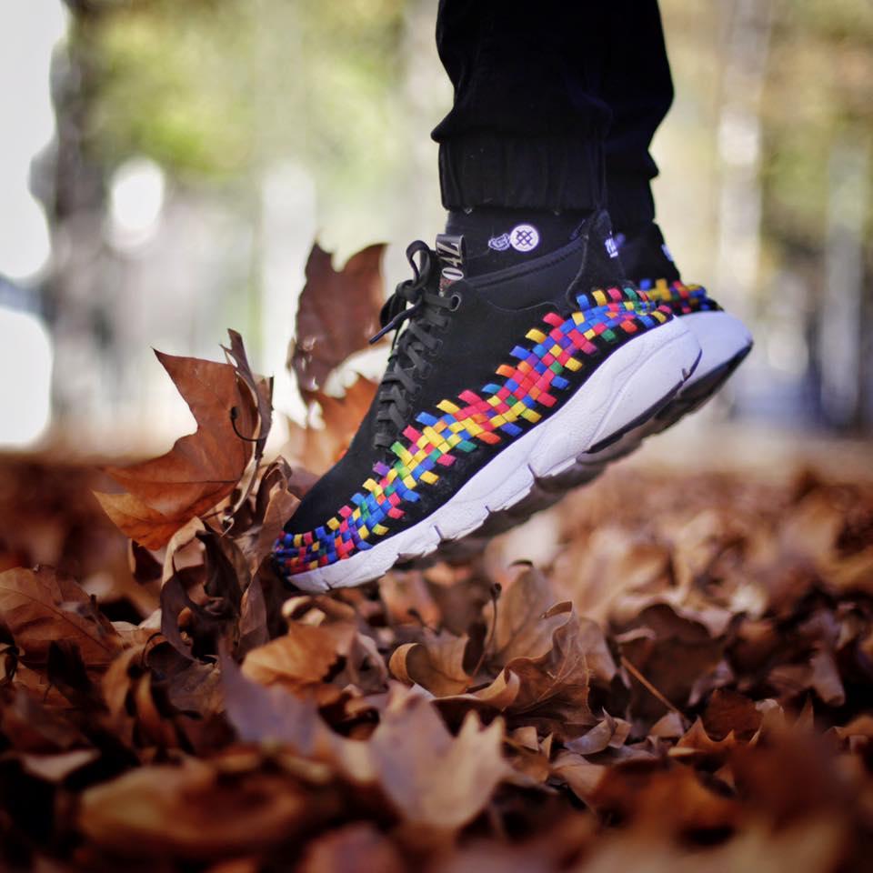Aitor Menta Poleo - Nike Footscape Woven Chukka Rainbow