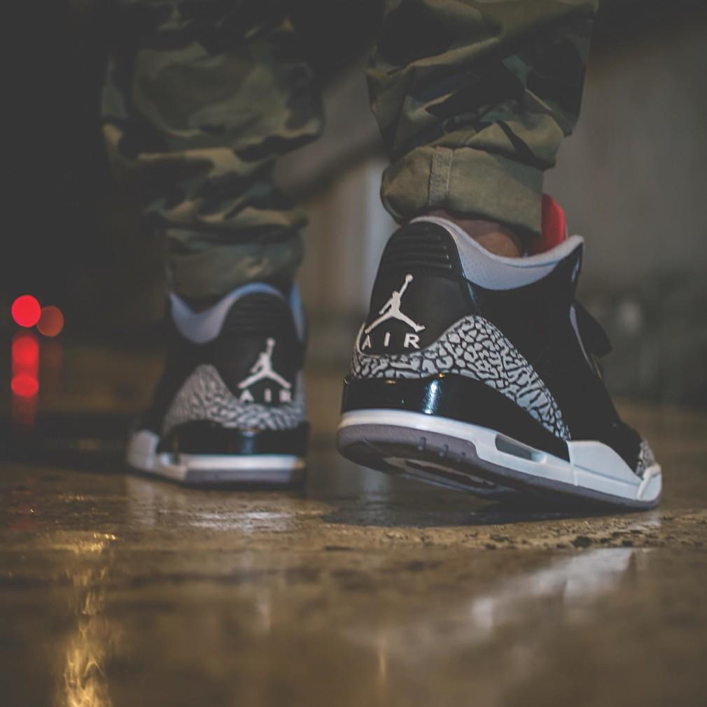 Alessandro Shakur Sotgiu - Air Jordan 3 Black Cement