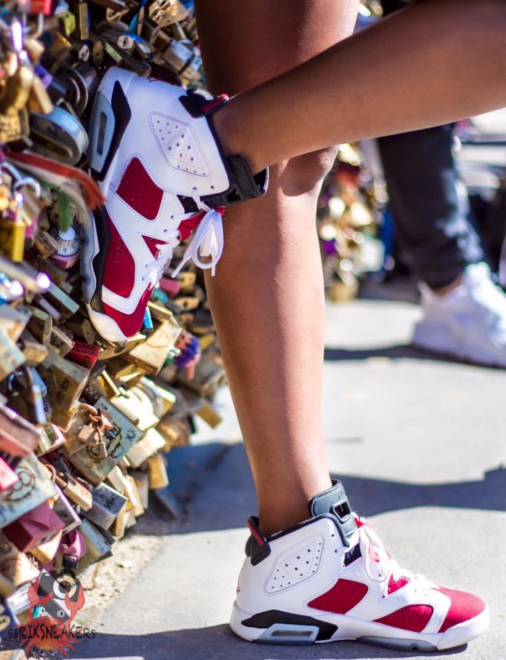 Amina Razzi Lejeune - Nike Air Jordan VI Carmine