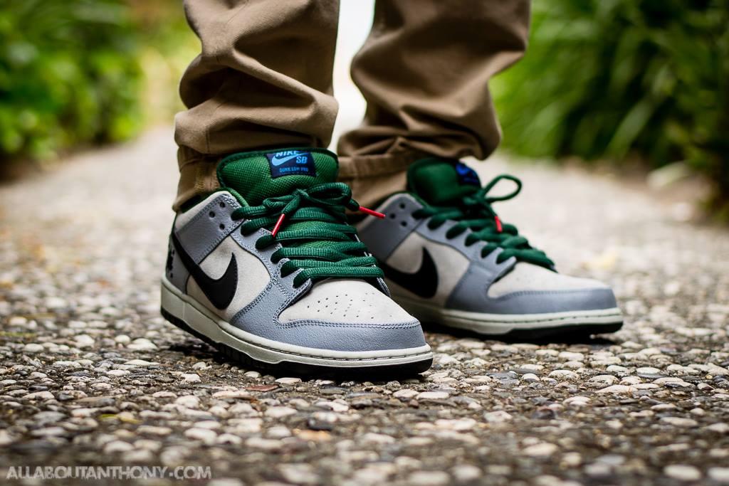 Anthony Levine - Nike Dunk Low SB 'Central Park'
