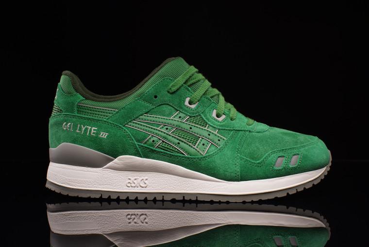 Asics Gel Lyte 3 'Tonal Suede' Pack  - Green:green H5U3L-8484