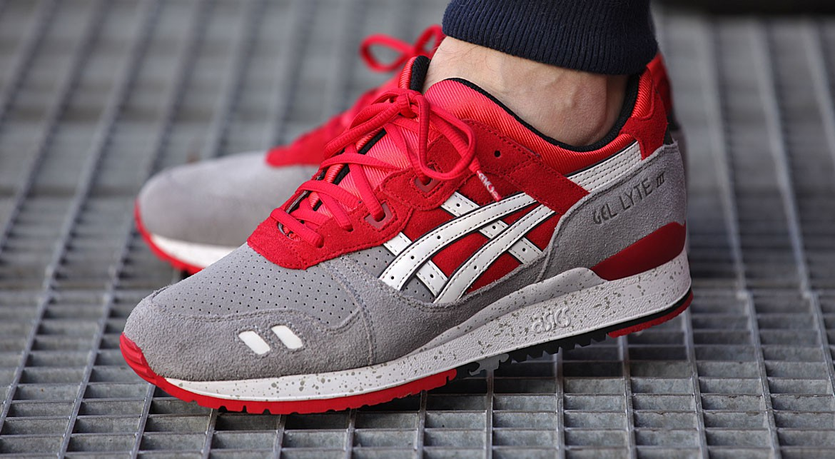 acheter asics gel lyte v homme femme chaussures rouge h60sq 2323 outlet  soldes; asics celebrates 30 years of gel technology