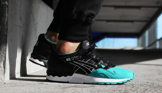 "Asics Gel Lyte V ""Tiffany"" Du Pack ""Colored Toe"""
