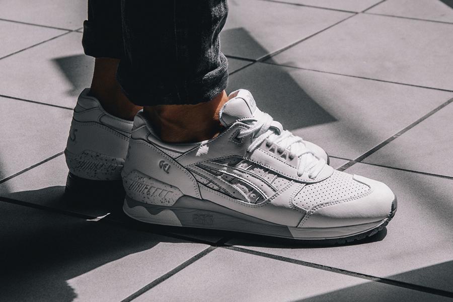 Asics Gel Respector Quot White Quot Sneakers Addict