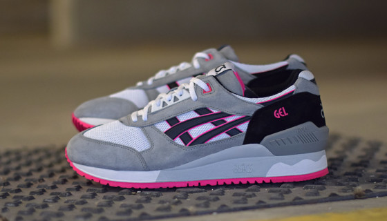 Asics Gel Respector – White/Black/Pink