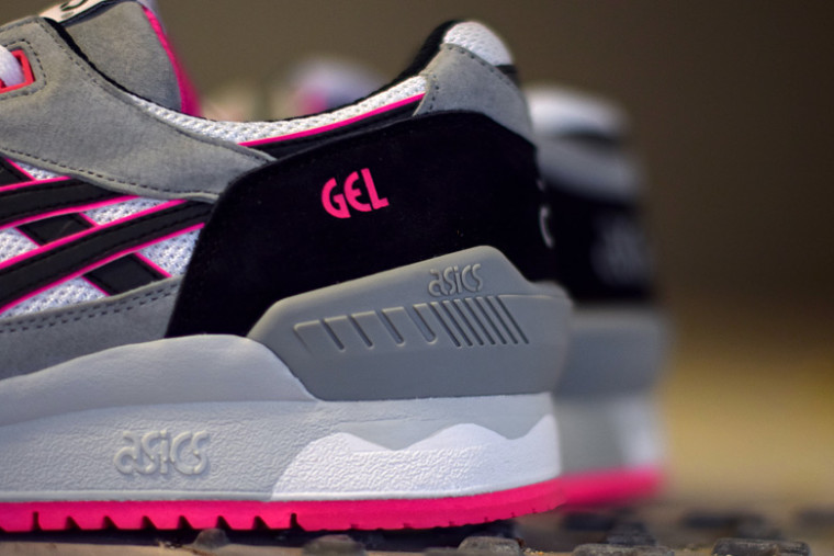 Asics Gel Respector White:Black:Pink