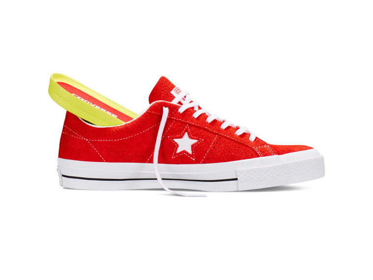 Converse One Star Hairy Suede