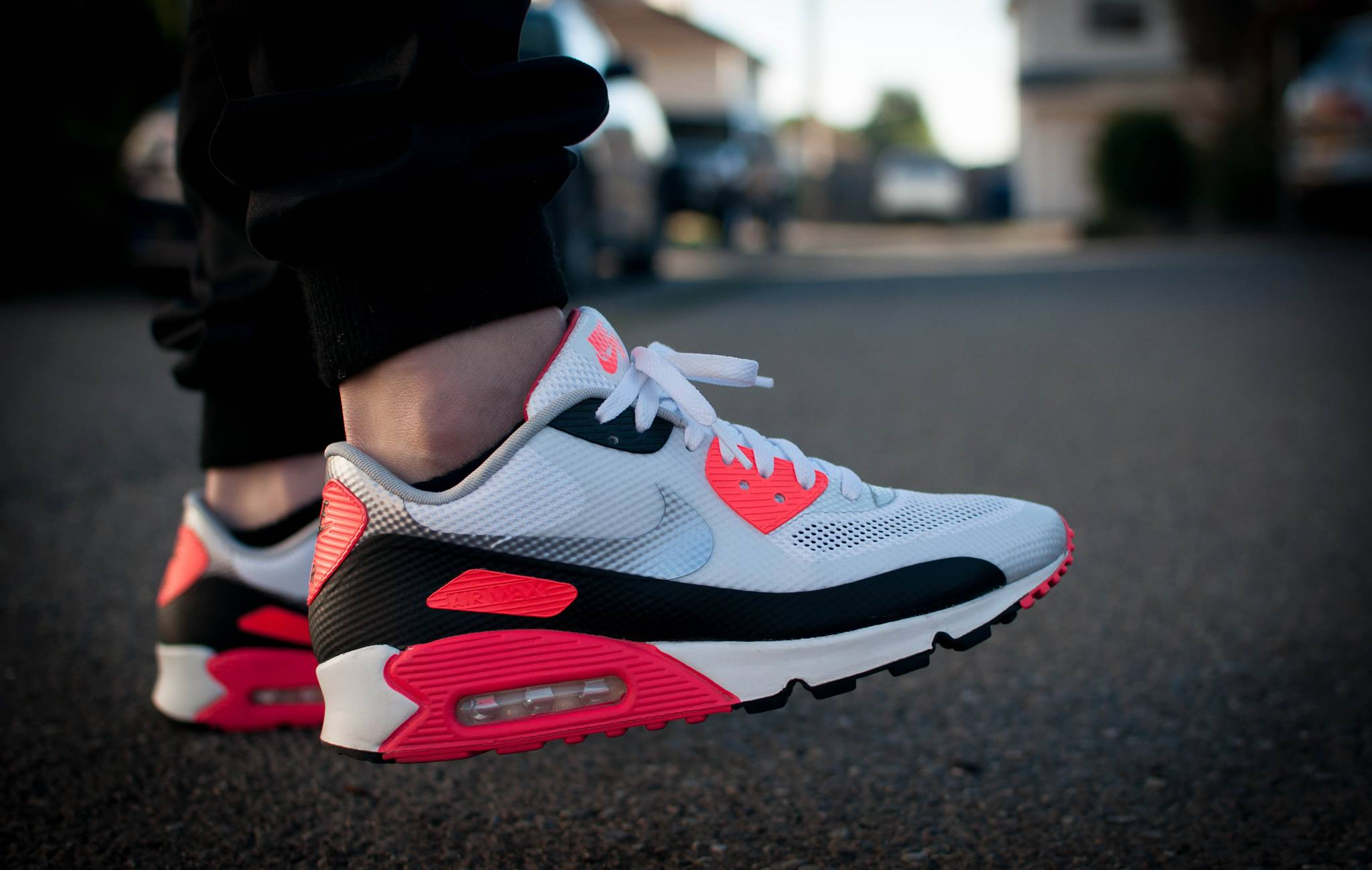 Air Max 90 Infrared Hyperfuse On Feet