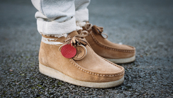 Goodhood x Clarks Wallabee