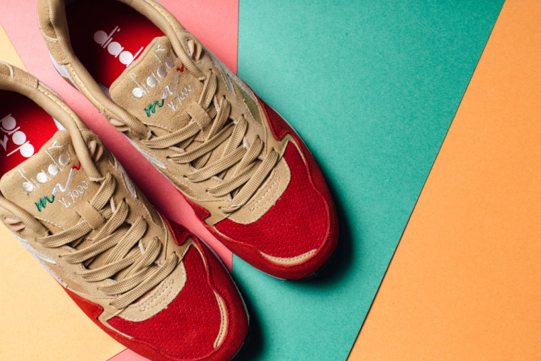 Diadora N9000 Poppy Red