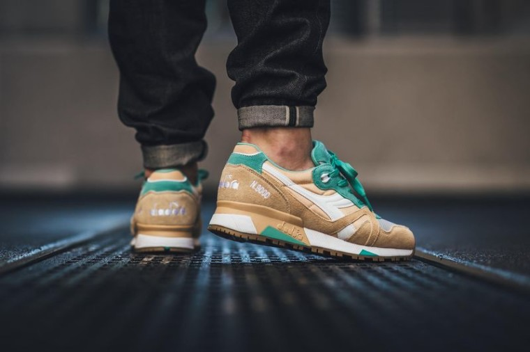 Diadora N9000 NYL Golden Straw