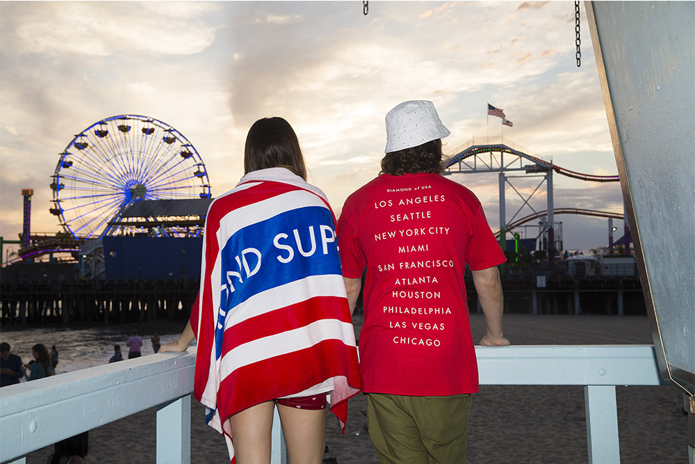 Diamond Supply Co. 4th of July Independence   day Lookbook
