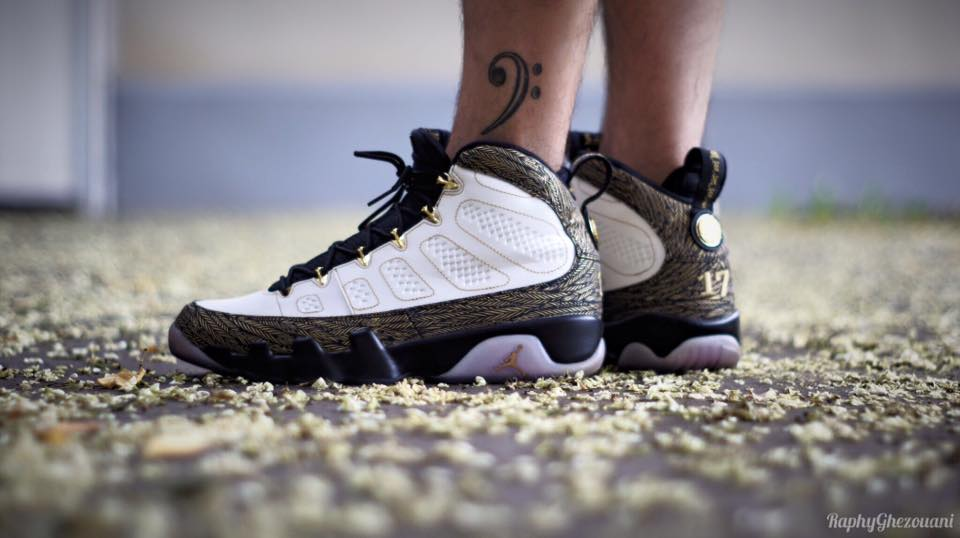 Diego Do Portugal - Air Jordan 9 DOERNBECHER