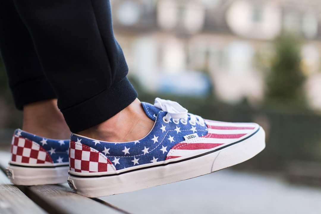 Vans Era Van Doren Quot Stars And Stripes Quot Sneakers Addict