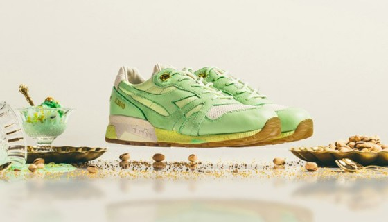 Feature x Diadora N9000 Pistachio