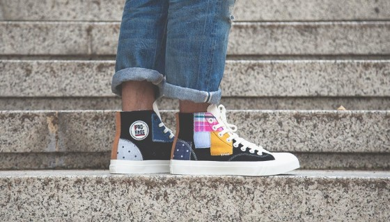 FootPatrol x Pro-Keds Royal Hi Patchwork