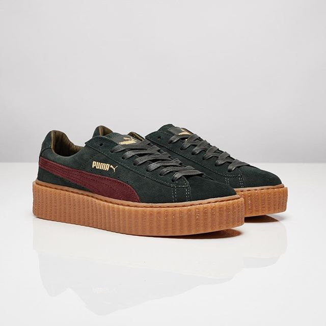 rihanna x puma creepers 3 nouveaux coloris sneakers addict. Black Bedroom Furniture Sets. Home Design Ideas
