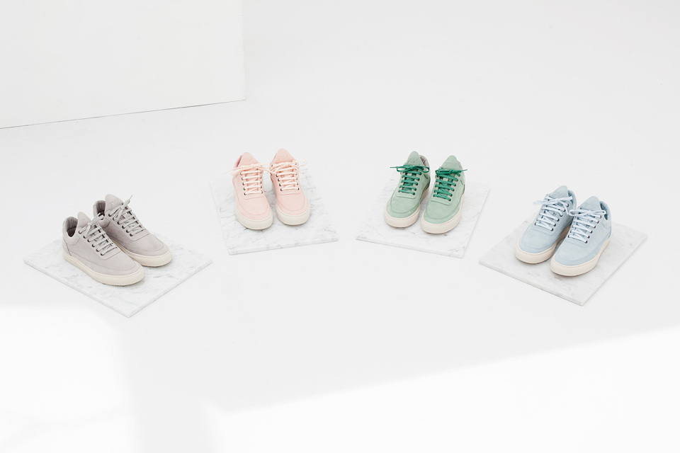 Filling Pieces Low Top Rainbow Collection