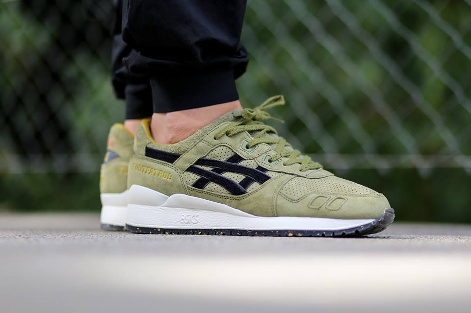 the best attitude f56b1 4cc9b Asics x FootPatrol Gel Lyte III