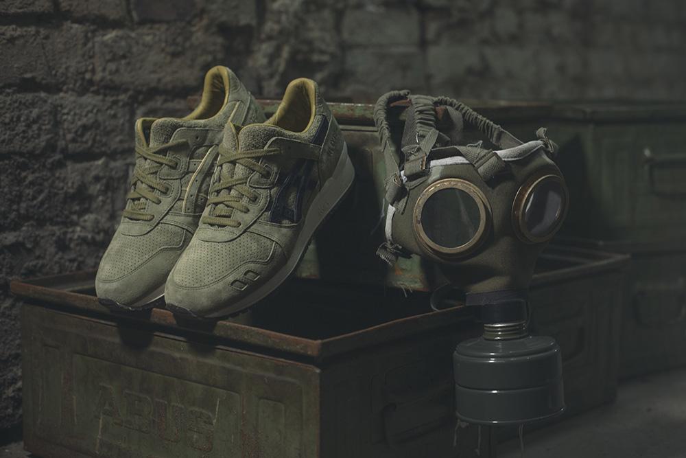 Footpatrol x ASICS Tiger GEL-LYTE III 'Squad'
