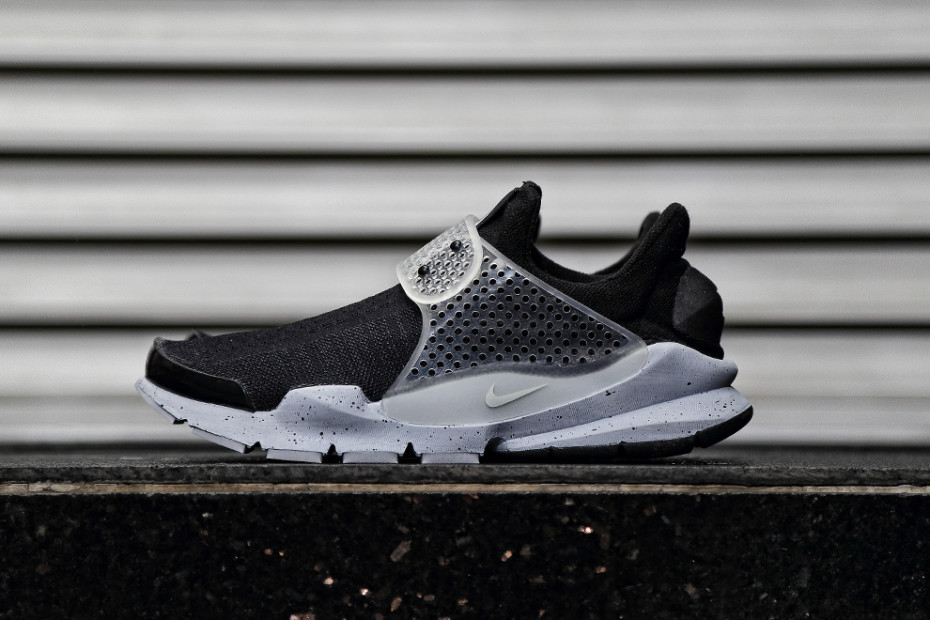 Fragment Design x Nike Sock Dart Black _ Wolf Grey