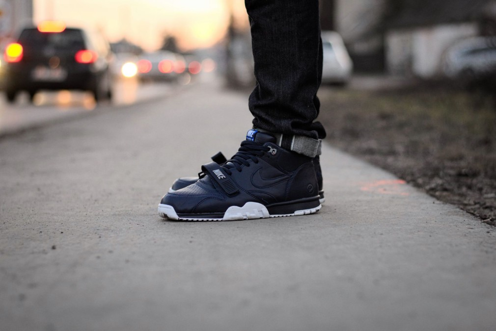 Gabriel Gwiazdon - Fragment x Nike Air Trainer 1 NAvy