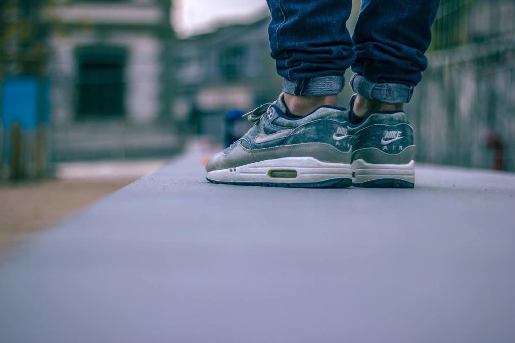 best website 35f8d 95e04 Guillaume Schmid - Nike Air max 1 dirty denim