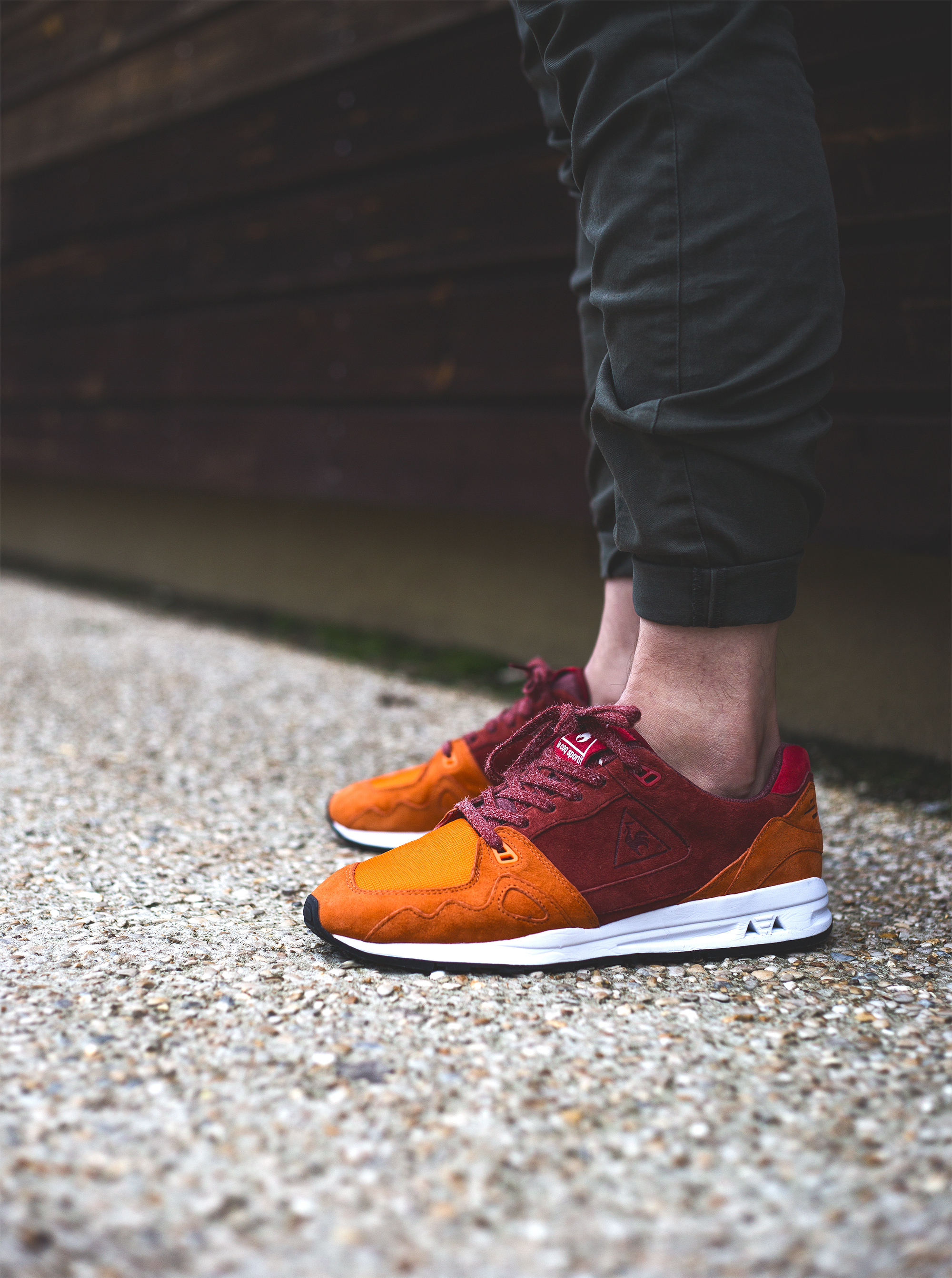 hanon x le coq sportif lcs r1000 french jersey. Black Bedroom Furniture Sets. Home Design Ideas